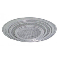 Grille à pizza en aluminium diamètre 330 mm