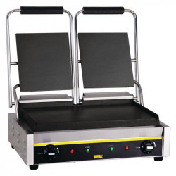 Grill panini double professionnel BUFFALO - Plaques lisses