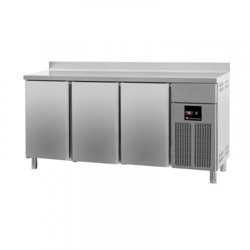 frigo arri re bar professionnel inox avec 3 portes. Black Bedroom Furniture Sets. Home Design Ideas
