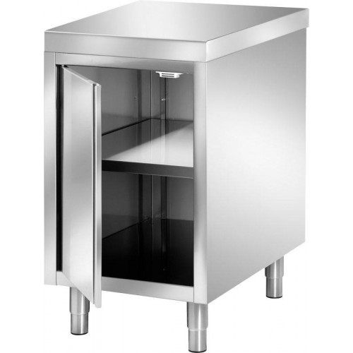 meuble cuisine inox 1 porte battante 600 x 600 mm. Black Bedroom Furniture Sets. Home Design Ideas
