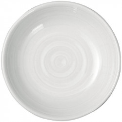 Assiettes à beurre en porcelaine blanche INTENZZO Ø 90 mm - Lot de 4