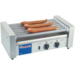 Roller hot dog professionnel HENDI - 7 rouleaux