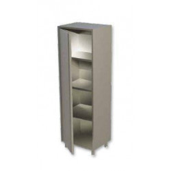 Armoire inox neutre 1 porte battante 600 x 600 mm