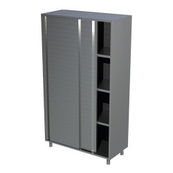 Armoire inox neutre 1 porte battante 600 x 800 mm