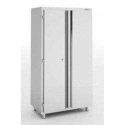 Armoire inox neutre 2 portes battantes ERATOS 1200 x 600 mm