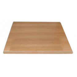 Plateau de table carré hêtre BOLERO - 600 x 600 mm