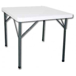 Table carrée pliante BOLERO - 860 x 860 mm