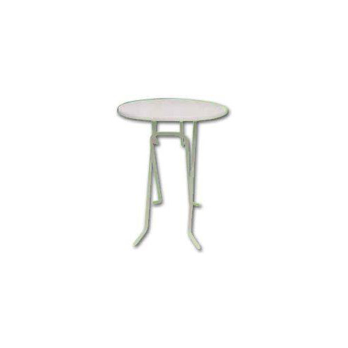 Table mange debout ronde escamotable 85 cm de diam tre for Table ronde escamotable