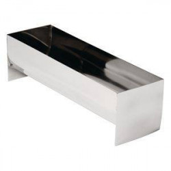 Moule à terrine en U en inox professionnel VOGUE - 260 x 80 x 75 mm
