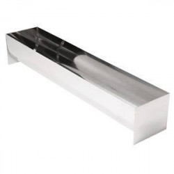 Moule à terrine en U en inox professionnel VOGUE - 500 x 100 x 90 mm
