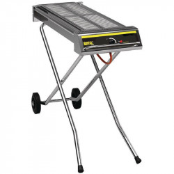 Barbecue à gaz pliable professionnel BUFFALO - 870 x 290 mm