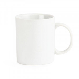 Tasses standards en porcelaine blanche OLYMPIA 284 ml - Lot de 12