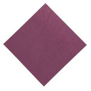 Lot de 1000 serviettes dîner (3 plis) fushia DUNI - 400 x 400 mm