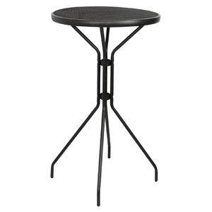 Table de terrasse pliante imitation bois BOLERO - 595 x 595 mm