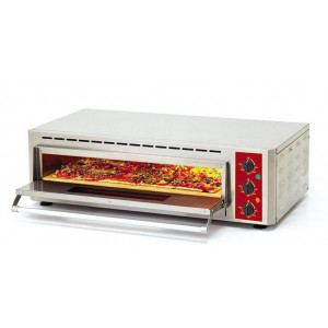 Four à pizza et bruschetta professionnel ROLLER GRILL - 660 x 430 mm