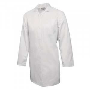 Blouse blanche pour commerce alimentaire - Taille M