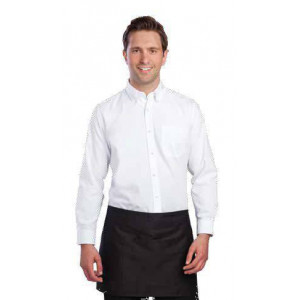STOCK EPUISE ! Chemise blanche professionnelle Oxford UNIFORM WORKS - Taille L Chemisier stretch noir professionnel UNIFORM WORKS - Taille S