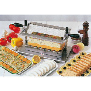 Guitare coupe-terrine professionnel BRON - 10 mm Guitare coupe-terrine professionnel BRON - 10 mm