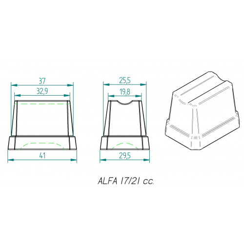 Machine à glaçons à injection à air professionnelle ITV - 77 kg / 24H