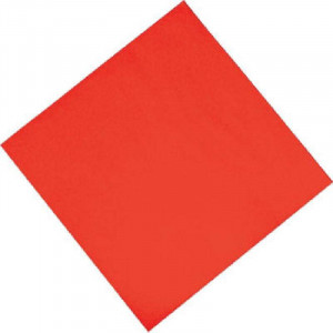 Lot de 1500 serviettes rouges de déjeuner - 330 x 330 mm Lot de 1500 serviettes rouges de déjeuner - 330 x 330 mm