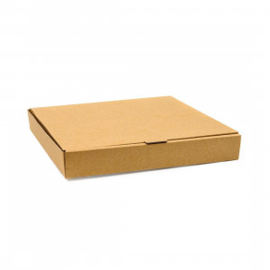 Lot de 100 cartons à pizza unis