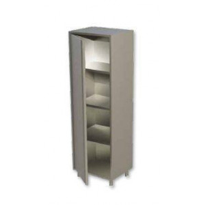 Armoire inox neutre 1 porte battante 700 x 700 mm
