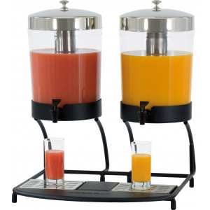 Distributeur de jus de fruits 2x8 L