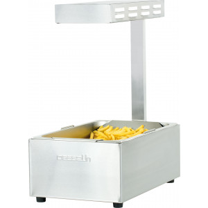 Chauffe frites infrarouge professionnel GN 1/1 Chauffe frites infrarouge professionnel GN 1/1