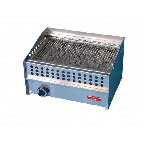 Barbecue charcoal professionnel pierre volcanique à gaz - 490 x 310 mm Barbecue charcoal professionnel pierre volcanique à gaz - 490 x 310 mm