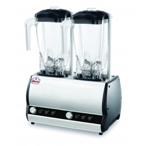 Double mixeur blender professionnel 2 x 2 L Orione SIRMAN