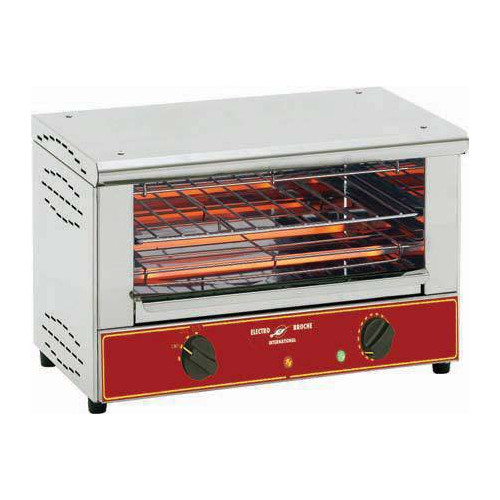 Toaster professionnel 150 toasts / heure Toaster professionnel super bar grill - 1 niveau