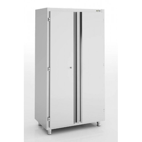 Armoire inox neutre 2 portes battantes ERATOS 1400 x 600 mm Armoire inox neutre 2 portes battantes ERATOS 1400 x 600 mm