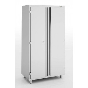 Armoire inox neutre 2 portes battantes ERATOS 1400 x 600 mm