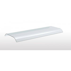 Verre courbé double face pour support ERATOS - 1409 mm