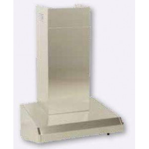 Cache gaine inox ALVENE 310 x 310 x 610 mm