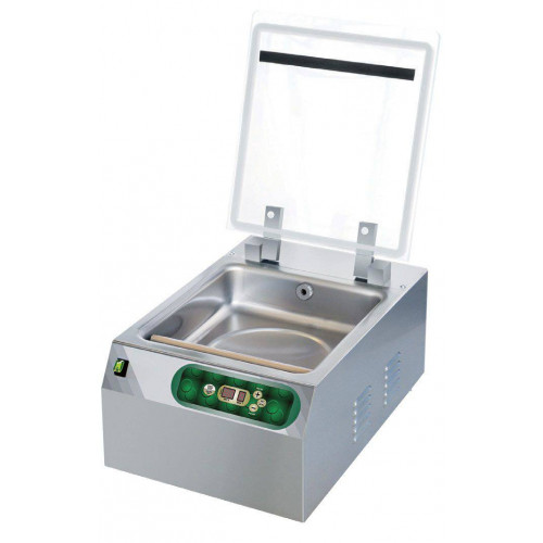 Machine sous-vide aspiration sous cloche - Barre de soudure 250 mm Machine sous-vide aspiration sous cloche - Barre de soudure 250 mm