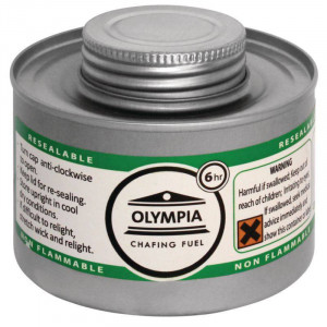 Combustible liquide OLYMPIA pour chafing dish 6h - Lot de 12 Combustible liquide OLYMPIA pour chafing dish 6h - Lot de 12