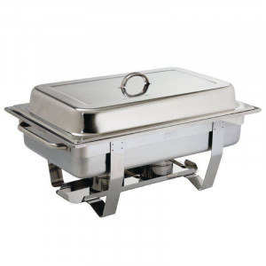 Chafing dish Milan GN 1/1 en inox professionnel OLYMPIA Chafing dish Milan GN 1/1 en inox professionnel OLYMPIA