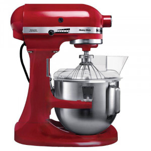 Batteur professionnel rouge 4,8 L KITCHENAID K5 Batteur professionnel rouge 4,8 L KITCHENAID K5