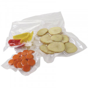 Lot de 50 sacs d'emballage sous vide gaufré VOGUE - 150 x 350 mm