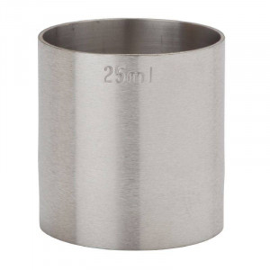 Mesure de bar professionnel en inox - 25 ml
