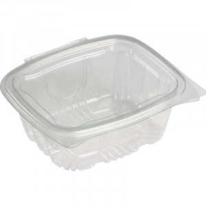 Lot de 750 barquettes transparentes 500 ml