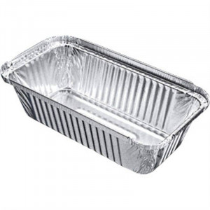 Lot de 500 barquettes en aluminium - 688 ml