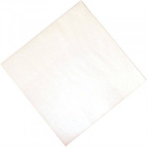 Lot de 1000 serviettes de dîner blanches - 400 x 400 mm Lot de 1000 serviettes de dîner blanches - 400 x 400 mm