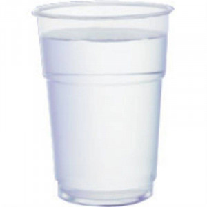 Lot de 1000 verres jetables résistants professionnels 285 ml au bord Lot de 1000 verres jetables résistants professionnels 285 ml au bord